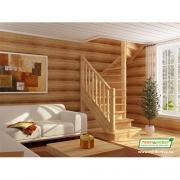 Лестница деревянная ЛС-05м