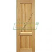 Дверь межкомнатная из бессучковой сосны Модерн