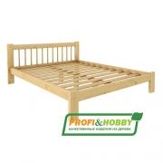 Кровать Дачная 1400 х 2000 Profi&Hobby
