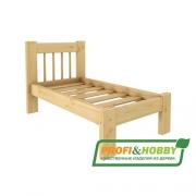 Кровать Дачная 600 х 1200 Profi&Hobby