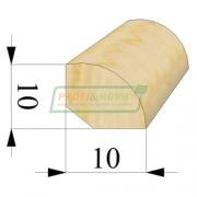 Штапик сосна 10 х 10 х 2200 Экстра сращенный