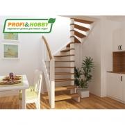 Лестница деревянная ЛС-04м