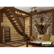 Лестницы деревянные ЛС-07м