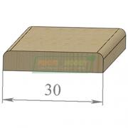 Раскладка сосна Гладкая 30 х 2200 Экстра сращенный